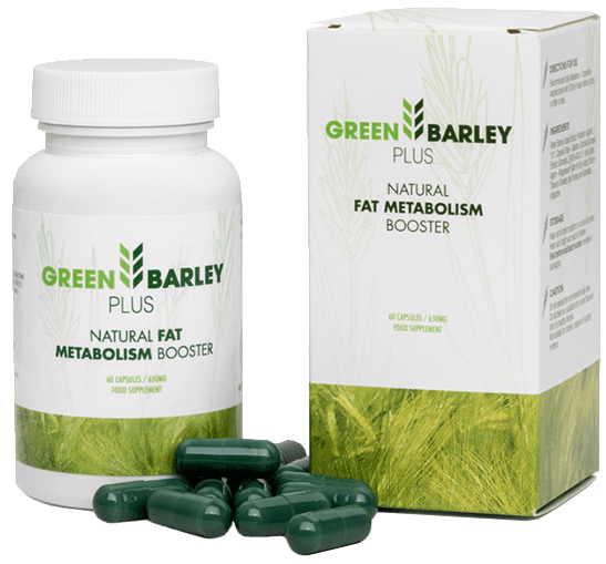 green barley plus w aptece